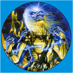 IRON MAIDEN-14 METAL BUTON ROZET 44 MM- METAL BUTTON BADGE - 44 MM