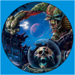 IRON MAIDEN-31 METAL BUTON ROZET 44 MM- METAL BUTTON BADGE - 44 MM